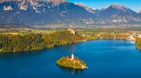 Slovinsko - Hory, Jazerá A História